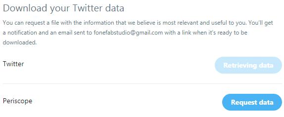 descargar datos de twitter
