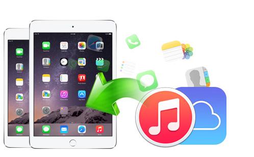 Extrahera iPad Backup