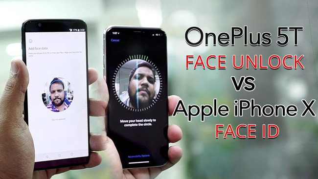 Face Unlock vs Face ID