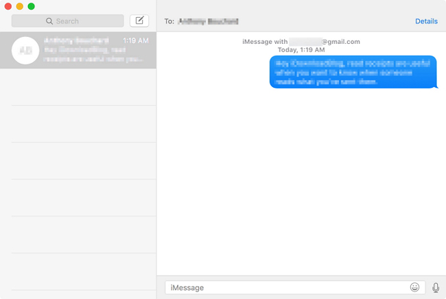 macbook iMessage