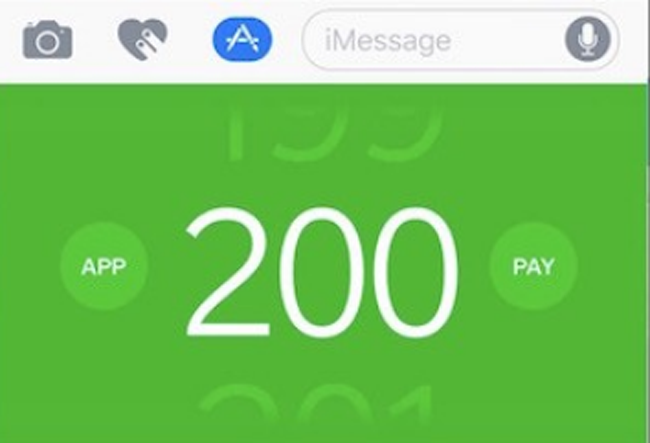 payment iMessage
