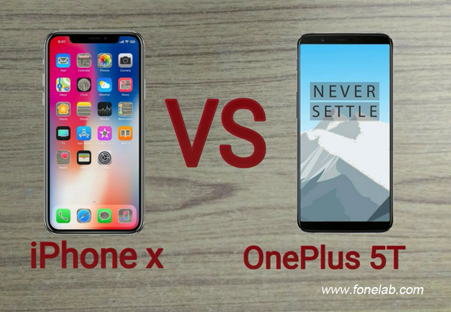 iPhone X vs OnePlus 5T