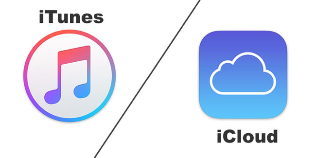 iTunes和icloud
