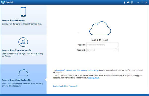 Get Access to iCloud Backup