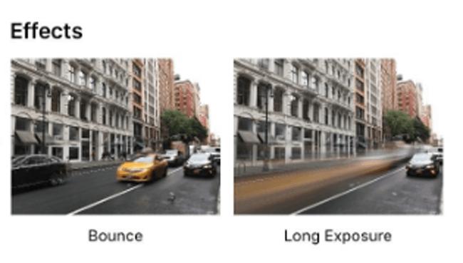 készítsen iphone hosszú expozíciós fotót