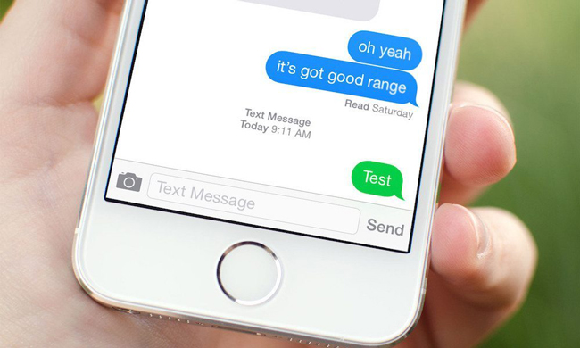 send text instead of imessage