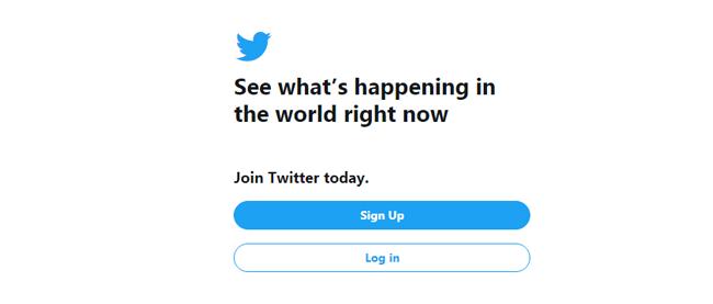 regístrate twitter