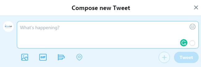 contenido del tweet