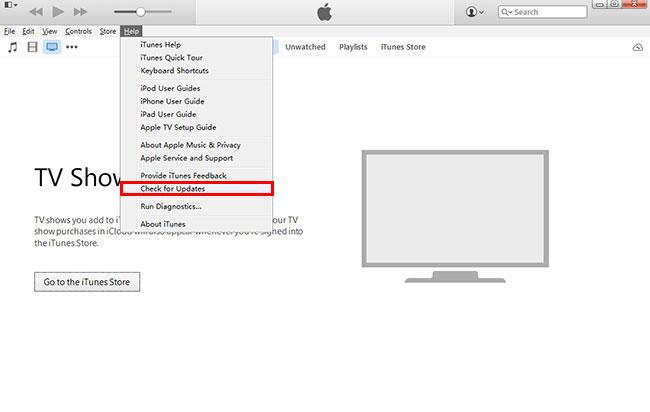 Frissítés iTunes