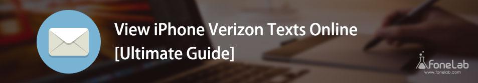 ver textos de Verizon en línea