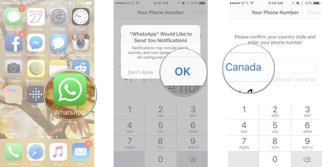 Whatsapp Asetukset