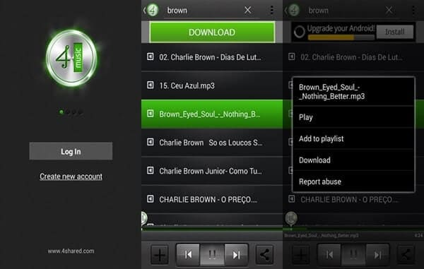 4shared Music APK