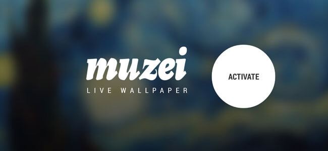 Muzei Live Wallpapers