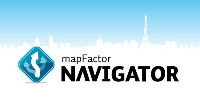 Mapas de navegación GPS MapFactor