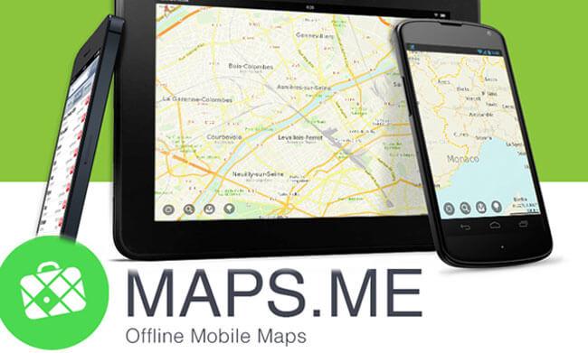 MAPS.ME-Mapa y navegación GPS