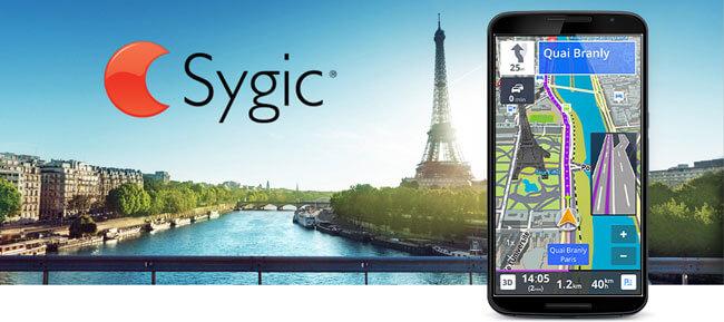 Navegación GPS y Mapas Sygic