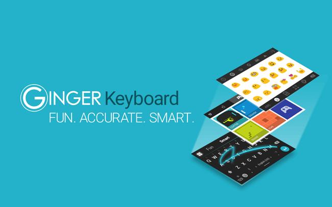 Ingwer-Tastatur.