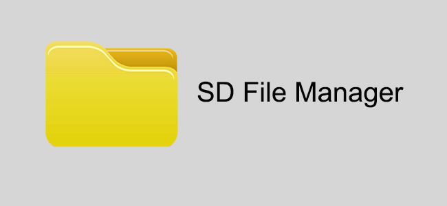 SD-Dateimanager