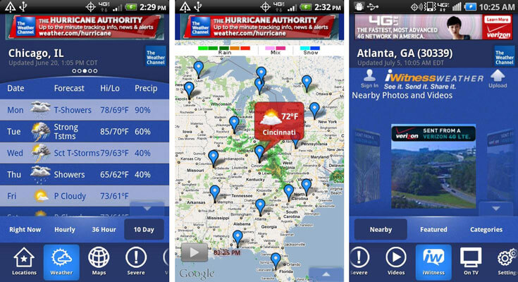 Download The Weather Channel APK for Android | Best APKs in 2016