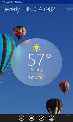 Der Weather Channel Screenshot