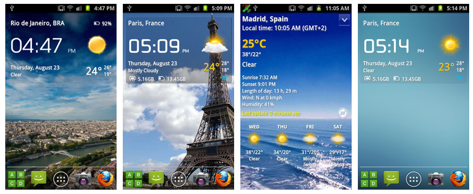Download Transparent Clock & Weather APK for Android | Best APKs in 2016