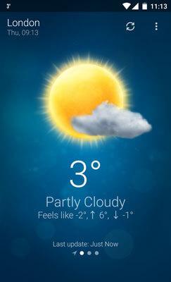 Wetter Screenshot