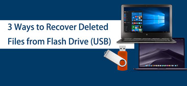 3 Ways to Recover Deleted Files from Flash Drive USB on Windows/Mac