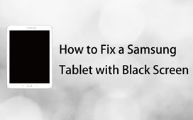 Fix en Samsung Tablet med Black Screen