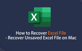 Gjenopprett Excel på Mac