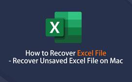 在Mac上還原Excel