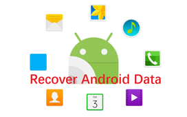 Gendan slettede android data