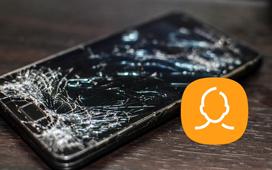 Gjenopprett ødelagt telefonkontakt