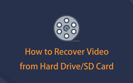 how to recover video from sd card or hard drive