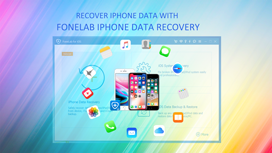 Recuperar dados do iPhone com FoneLab iPhone Data Recovery