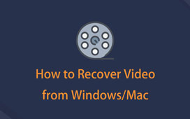 Recover Deleted Video from PC