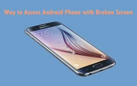 Gjenopprett data fra Samsung-telefon med en splittet skjerm