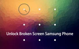 解鎖屏幕破裂的Android手機