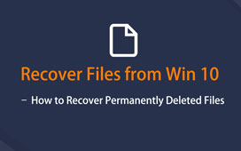 Recuperar archivos de Windows 10