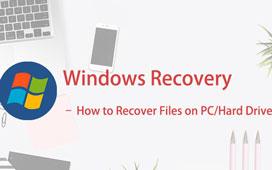 Как восстановить файлы на ПК / жесткий диск