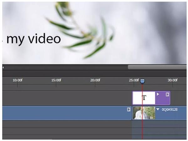 photoshop aracılığıyla videoya metin ekle