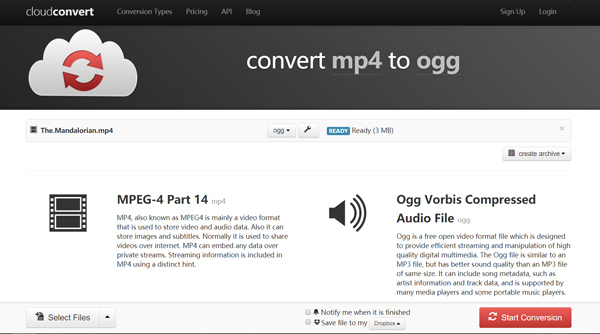 How to Convert MP4 to OGG Free Online