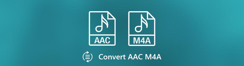 在Windows / Mac / Online上將AAC轉換為M3A音頻文件的4種方法