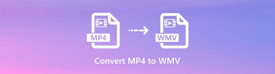 Konvertieren zwischen MP4- und WMV-Formaten auf dem Desktop und online