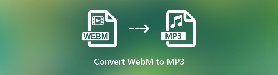 3 Möglichkeiten, WebM auf Ihrem Telefon oder Computer schnell in MP3-Audio umzuwandeln