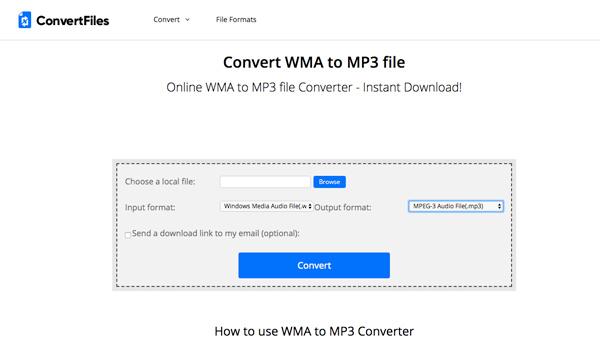 Dateien konvertieren
