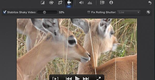 fix blurry video with imovie