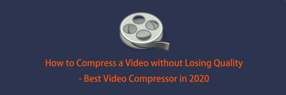 如何在不損失質量的情況下壓縮視頻-2021年最佳視頻壓縮器