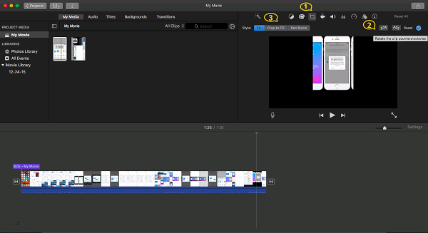 imovie Video drehen