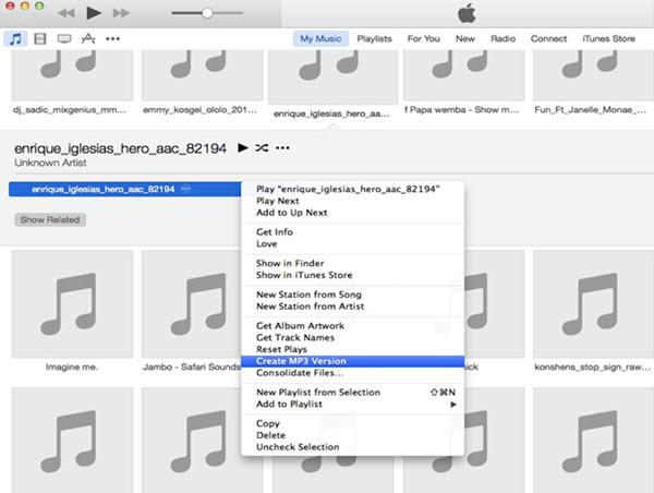 iTunes erstellen MP3