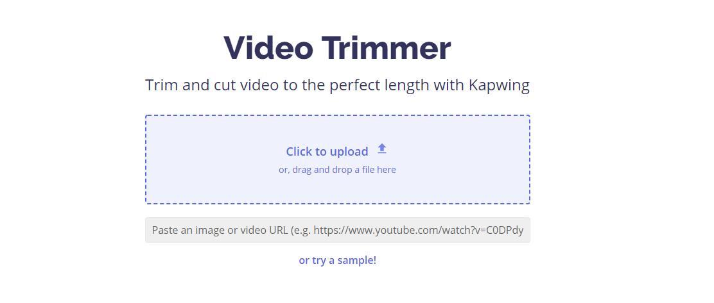 Kapwing Trimmer
